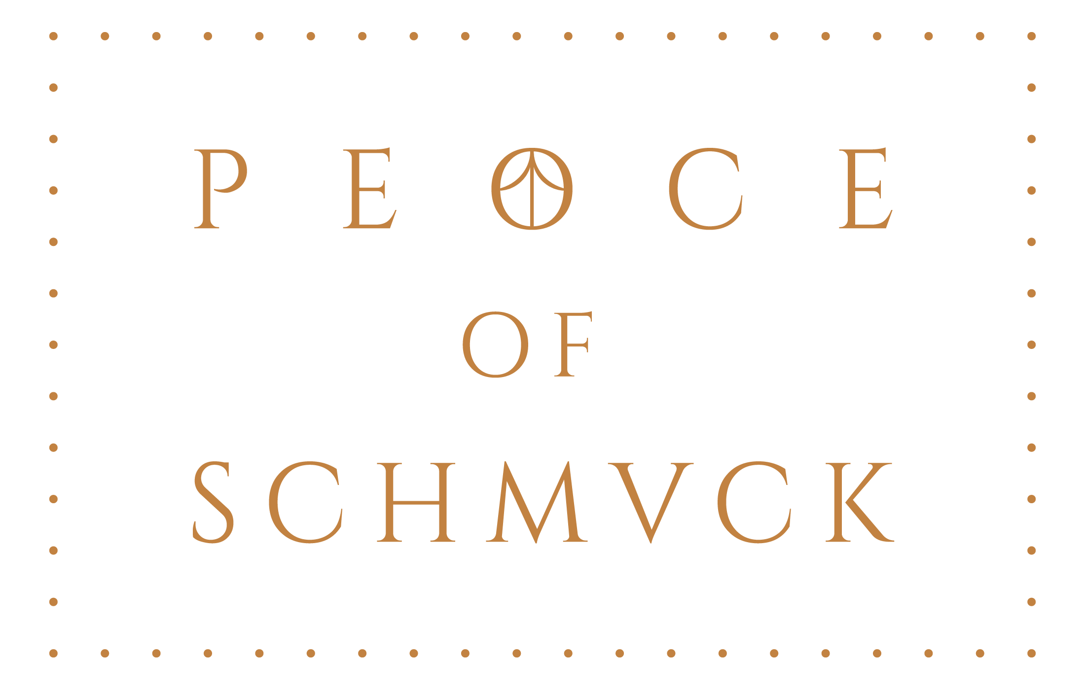Logo PEACE OF SCHMUCK