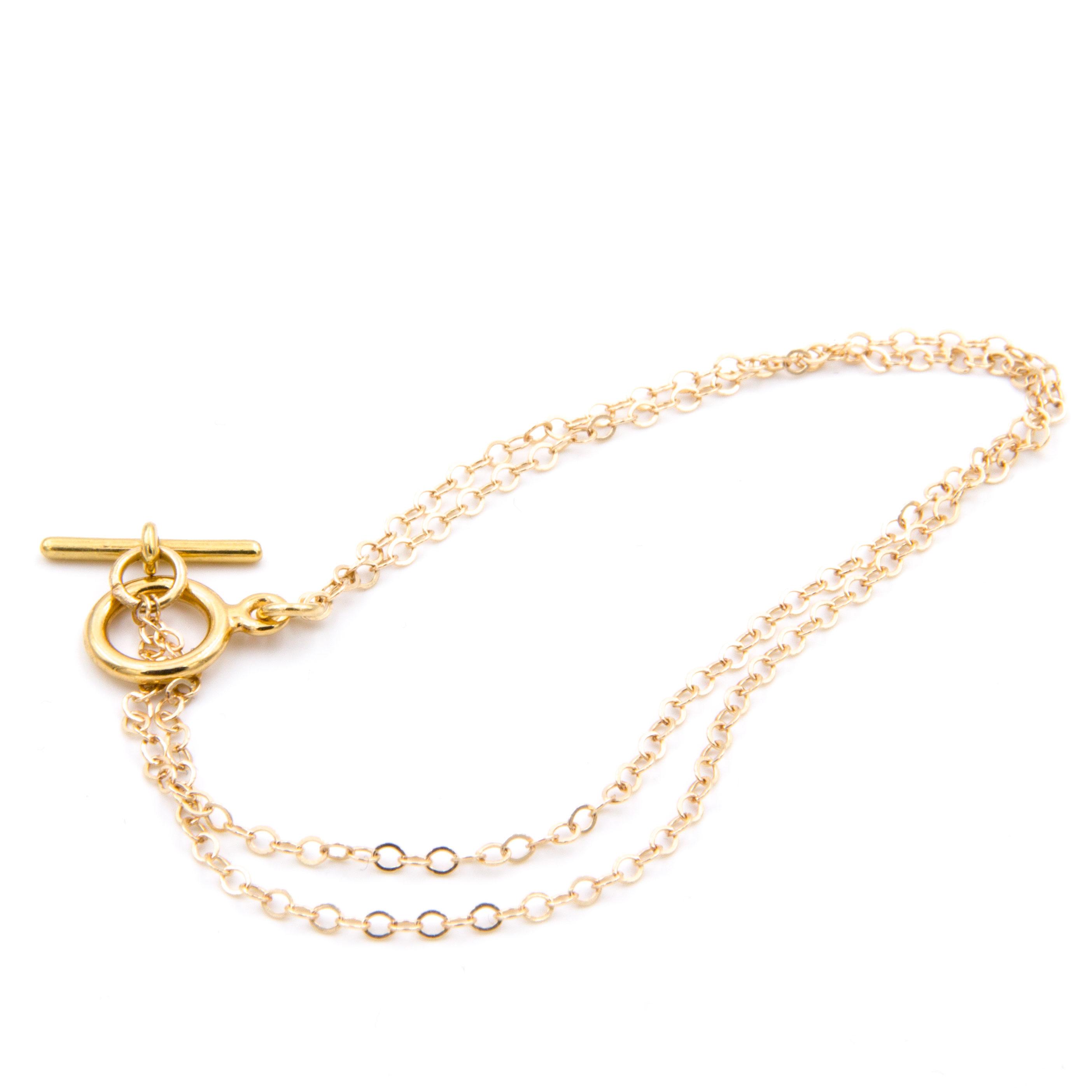 peaceofschmuck-bracelets-double-chain-gold